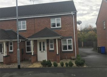 Thumbnail 2 bed semi-detached house for sale in Hevea Road, Burton-On-Trent, Staffordshire