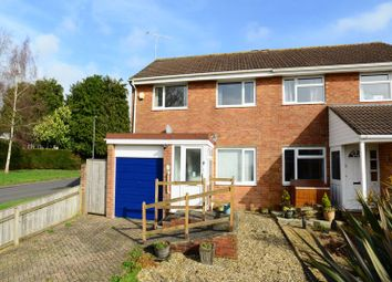 Thumbnail 3 bed semi-detached house for sale in Hinton Close, Blandford Forum