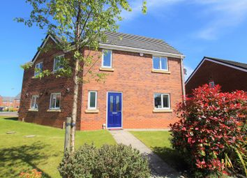 Thumbnail 3 bed property for sale in Prince Charles Avenue, Bowburn, Durham