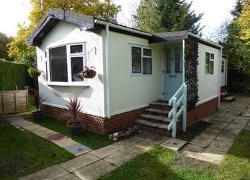 1 bed mobile/park home for sale in Fangrove Park, Lyne Lane, Chertsey, Surrey KT16