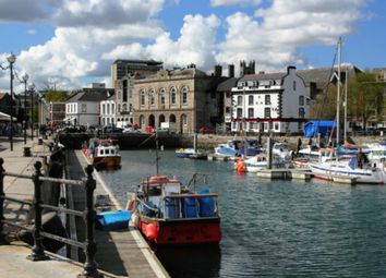 Thumbnail 1 bed flat to rent in Quay Road, Plymouth