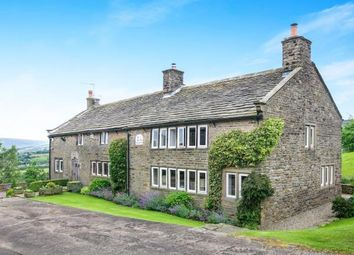 Thumbnail 5 bed detached house for sale in Higher Chisworth, Chisworth, Glossop, Derbyshire