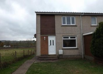 Thumbnail 2 bed end terrace house to rent in Bridgehousehill Road, Kilmarnock