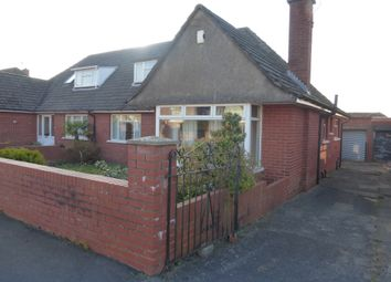 Thumbnail 3 bed semi-detached bungalow for sale in Lynton Close, Llanrumney, Cardiff