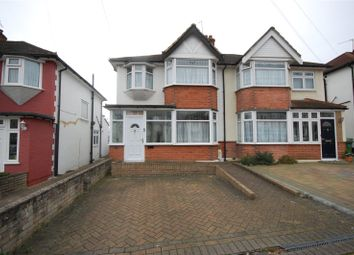 Thumbnail 3 bed semi-detached house for sale in Park End Road, Romford