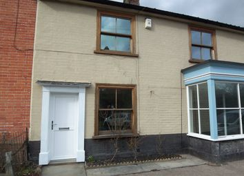 Thumbnail 3 bed terraced house to rent in The Street, Peasenhall, Saxmundham