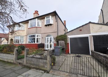 Thumbnail 3 bed semi-detached house for sale in Rose Mount Drive, Wallasey