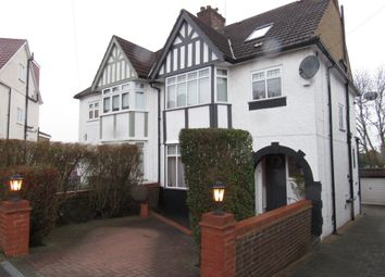 Thumbnail 4 bedroom semi-detached house for sale in Hillside, Kingsbury