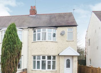 Thumbnail 3 bed semi-detached house for sale in Humberstone Lane, Leicester