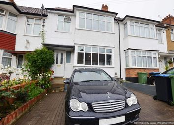 Thumbnail 3 bed terraced house for sale in Woodside Avenue, Wembley