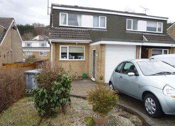 Thumbnail 2 bedroom semi-detached house for sale in Warneford Road, Cowlersley, Huddersfield