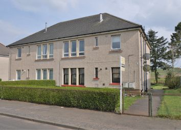 Thumbnail 2 bed flat for sale in Craig Road, Neilston