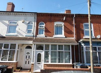 Thumbnail 4 bedroom terraced house for sale in Gladstone Road, Sparkbrook, Birmingham, West Midlands