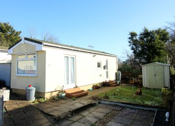 Thumbnail 1 bed mobile/park home for sale in Dorchester Road, Lytchett Minster, Poole