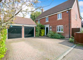 Thumbnail 4 bedroom detached house for sale in Damms Pastures, Highfields Caldecote, Cambridge