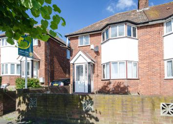 Thumbnail 3 bed semi-detached house for sale in Victoria Avenue, Wembley Park