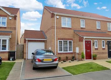 Thumbnail 3 bed semi-detached house for sale in Finch Drive, Sleaford
