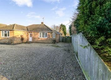 Thumbnail 3 bed detached bungalow for sale in Smeeth Road, Marshland St James, Wisbech, Norfolk
