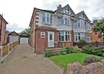 Thumbnail 3 bed semi-detached house for sale in Whernside Road, Woodthorpe, Nottingham