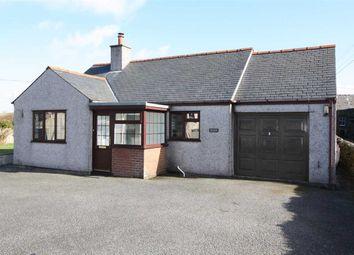 Thumbnail 2 bed detached bungalow for sale in Llanddona, Beaumaris