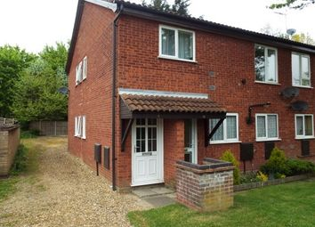 Thumbnail 2 bedroom maisonette to rent in Osborne Close, North Walsham