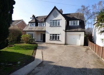Thumbnail 5 bed detached house to rent in Heathbank Road, Cheadle Hulme, Cheadle