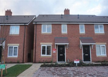 Thumbnail 2 bed semi-detached house to rent in Penson Way, Shrewsbury