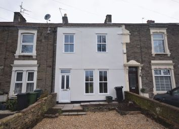 Thumbnail 2 bed terraced house to rent in Richmond Road, Mangotsfield, Bristol