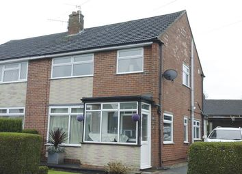 Thumbnail 3 bed semi-detached house for sale in Thanet Grove, Longton, Stoke-On-Trent