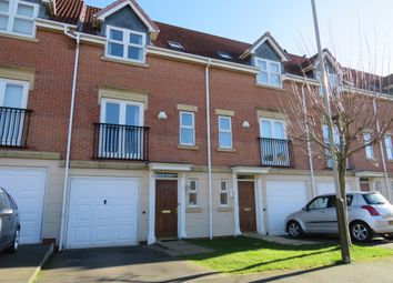 Thumbnail 3 bed town house for sale in Bestwood Close, Heathley Park, Leicester