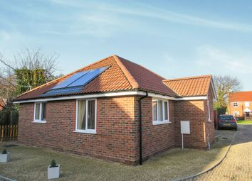 Thumbnail 2 bed detached bungalow for sale in New Road, Catfield, Great Yarmouth