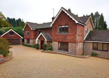 Thumbnail 5 bed detached house to rent in Uvedale Road, Oxted