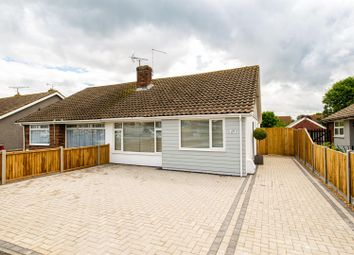 Thumbnail 3 bed semi-detached bungalow for sale in Burnan Road, Whitstable