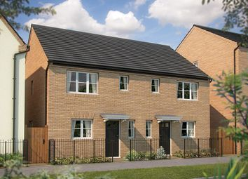 "Thumbnail 3 bed semi-detached house for sale in ""The Southwold"" at Irthlingborough Road, Wellingborough"