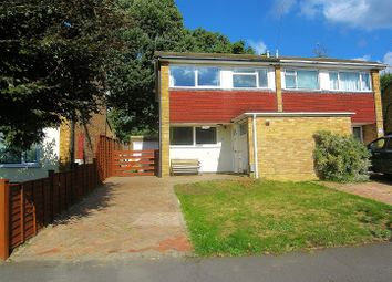 Thumbnail 3 bed semi-detached house for sale in Northwood Avenue, Knaphill, Woking