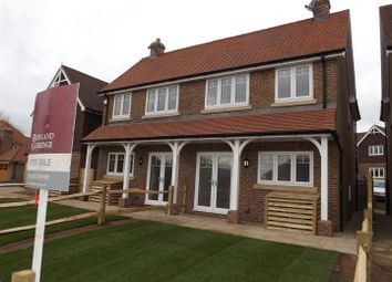 Thumbnail 2 bed semi-detached house for sale in Station Road, Berwick, Polegate