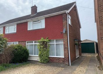 Thumbnail 3 bed semi-detached house for sale in Arden Close, Market Harborough