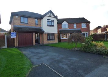 Thumbnail 4 bed detached house for sale in Newlyn Gardens, Penketh, Warrington