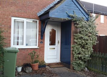 Thumbnail 2 bed terraced house to rent in Bosworth Close, Bletchley
