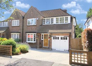 Thumbnail 5 bed semi-detached house for sale in Evelyn Drive, Pinner