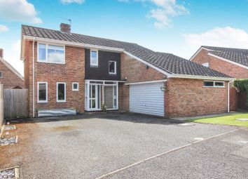 Thumbnail 4 bed detached house for sale in Warren Drive, Abbotts Ann
