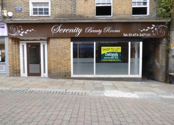 Retail premises to let in High Street, Gravesend, Kent DA11