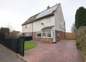 Thumbnail 3 bed semi-detached house to rent in Suffolk Place, Birtley, Chester Le Street