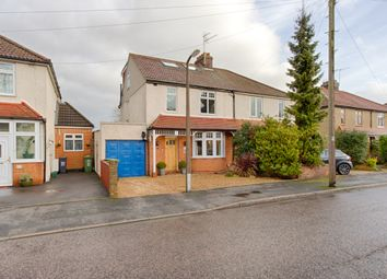 Thumbnail 4 bed semi-detached house for sale in Bushby Avenue, Broxbourne