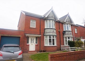Thumbnail 3 bed semi-detached house for sale in West Riggs, Bedlington