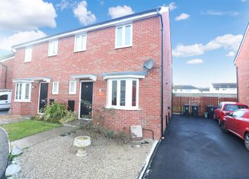 Thumbnail 3 bed semi-detached house for sale in Chimney Crescent, Irthlingborough, Wellingborough