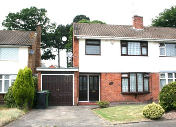 Thumbnail 3 bedroom semi-detached house to rent in Cricket Meadow, Wolverhampton