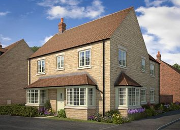 "Thumbnail 4 bed detached house for sale in ""The Halford"" at Todenham Road, Moreton-In-Marsh"