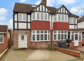 Thumbnail 3 bed link-detached house for sale in Bargate Close, New Malden