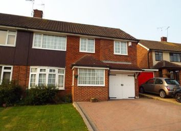 Thumbnail 4 bed semi-detached house for sale in Kingswood, Basildon, Essex